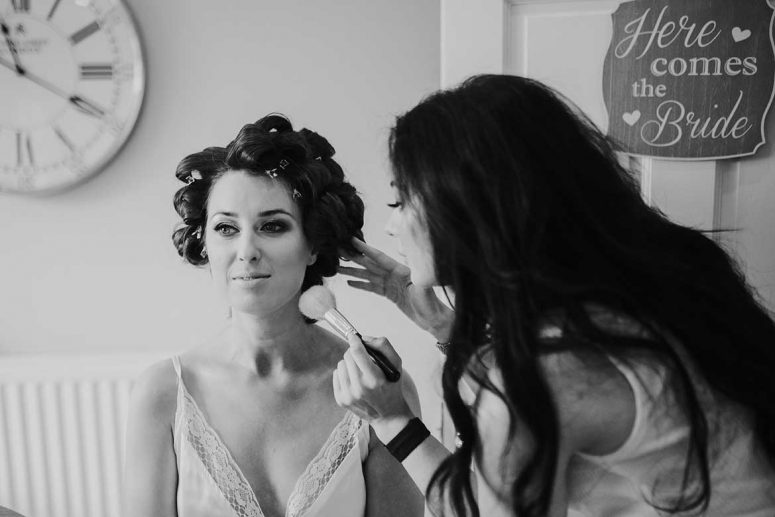 Dawn Finnegan wedding makeup